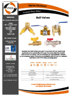 Ball-Valves-Datasheet