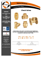 Check-Valves-Datasheet