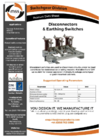 Disconnectors-Earthing-Switches