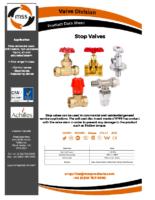 Stop-Valves-Datasheet